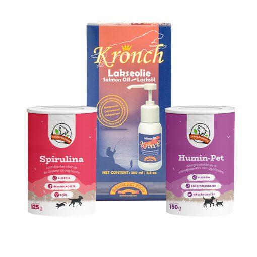 ALLERGIÁS KUTYA BASIC étrend-kiegészítő csomag mini
