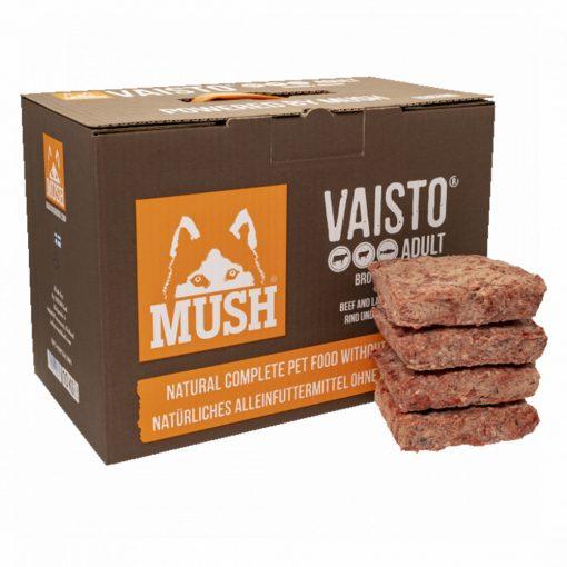Mush Brown Marha-Bárány-Lazac barf komplett menü 10kg