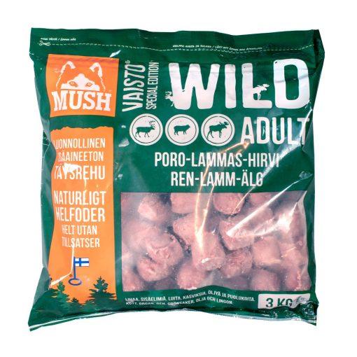 Mush Wild Rénszarvas-Bárány-Jávorszarvas 3kg